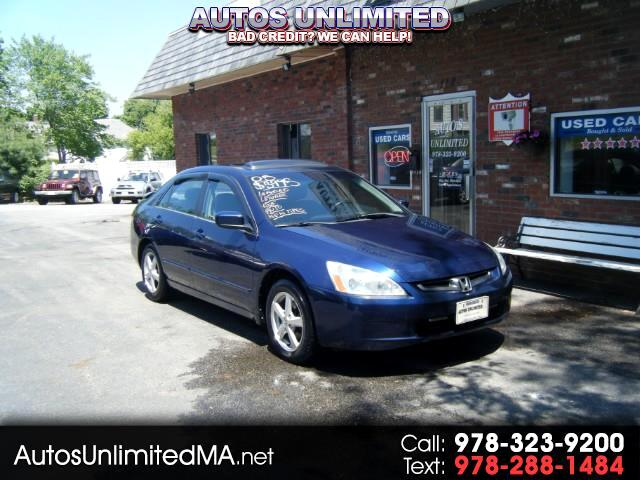 2005 Honda Accord EX SEDAN