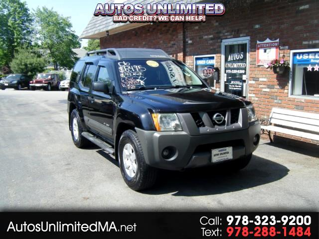 2006 Nissan Xterra OR 4WD 6 SP MANUAL