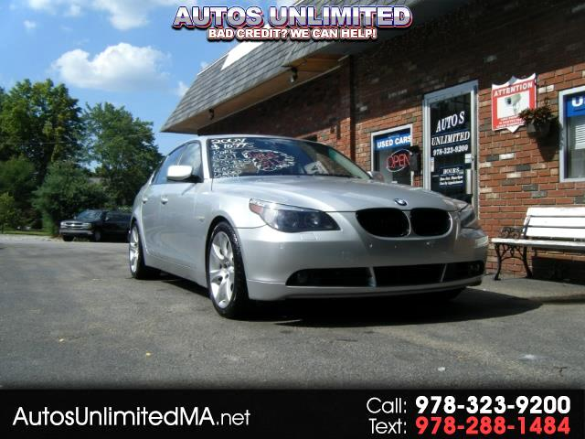 2007 BMW 5-Series 550i 6 SPEED MANUAL