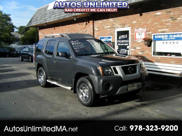 2009 Nissan Xterra X 4WD 6 SP MANUAL