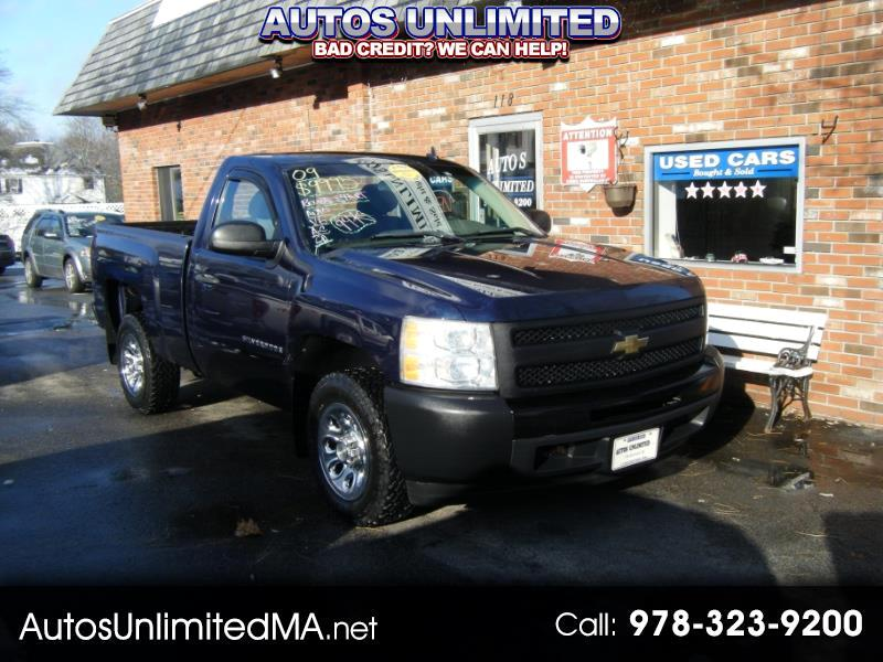 2009 Chevrolet Silverado 1500 Reg. Cab Short Bed 2WD