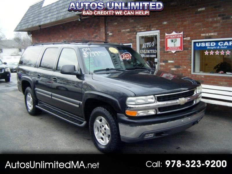 2004 Chevrolet Suburban 1500 4WD LT