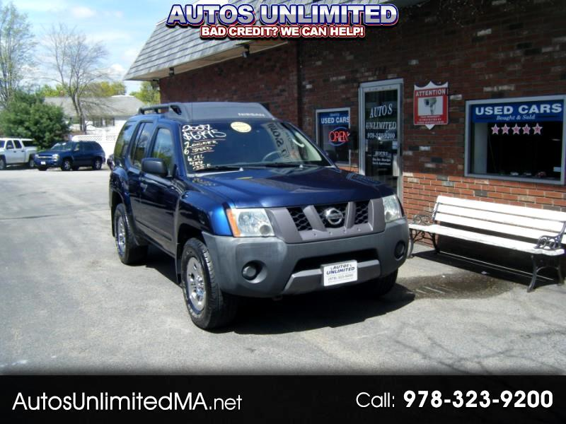2007 Nissan Xterra X 4WD 6 SP MANUAL