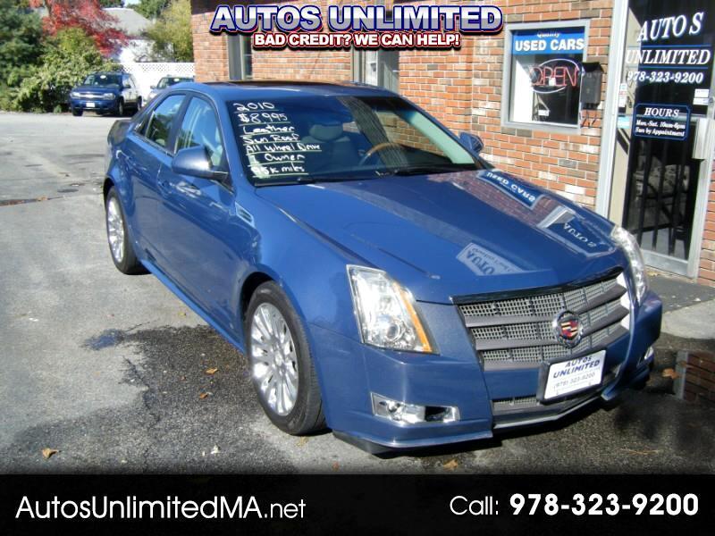 2010 Cadillac CTS 3.6L PERFORMANCE AWD W/NAVI