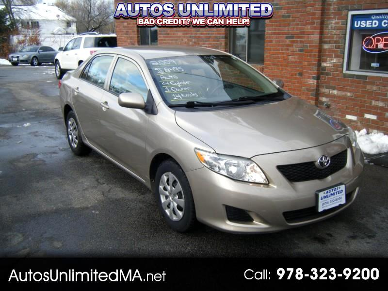 2009 Toyota Corolla For Sale >> Used 2009 Toyota Corolla For Sale In Chelmsford Ma 01824