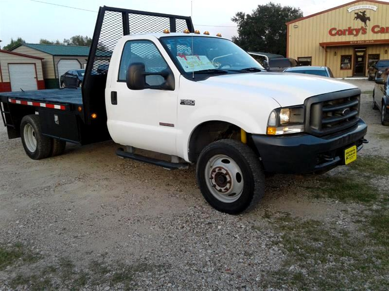 "2004 Ford Super Duty F-550 DRW Reg Cab 141"" WB 60"" CA XL 4WD"