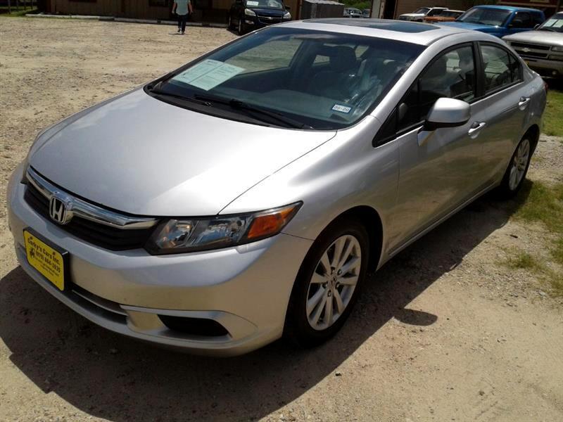 2012 Honda Civic 4dr Auto EX