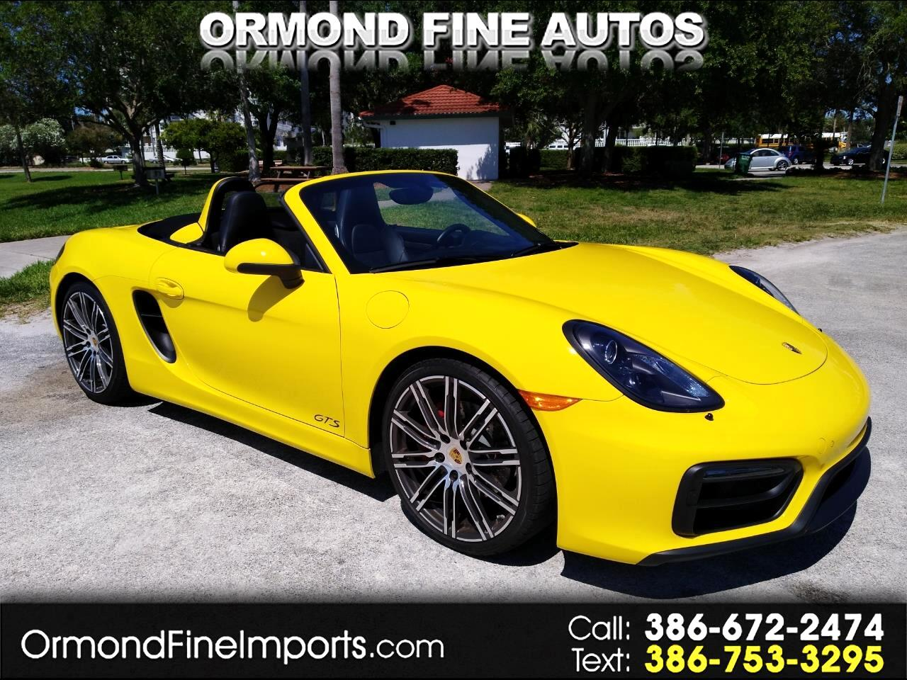 2016 Porsche Boxster 2dr Roadster GTS