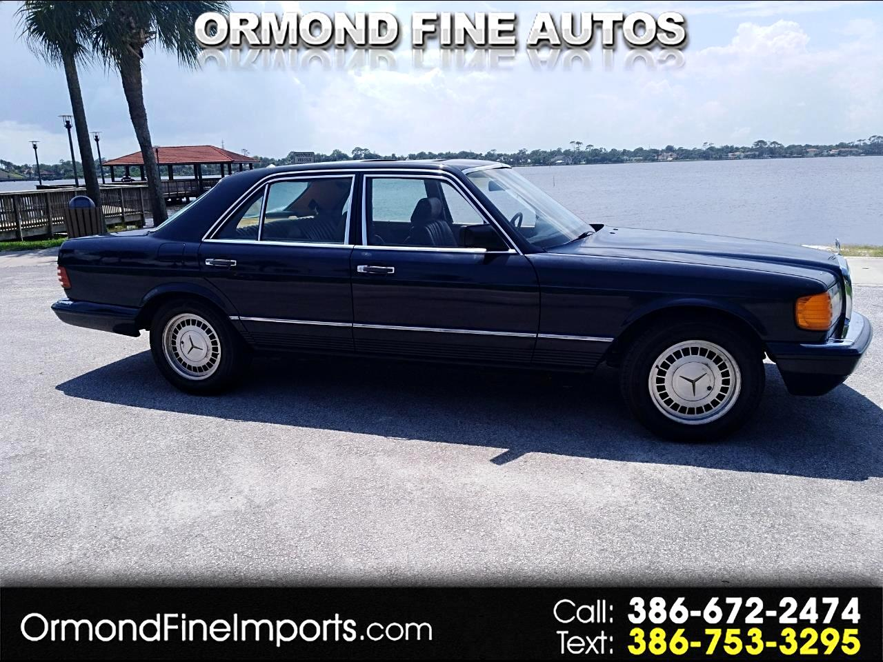 1982 Mercedes-Benz 380 Series 4dr Sedan 380SEL