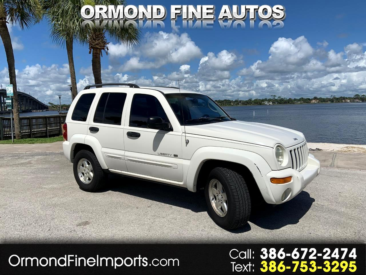 Jeep Liberty 4dr Limited 4WD 2002