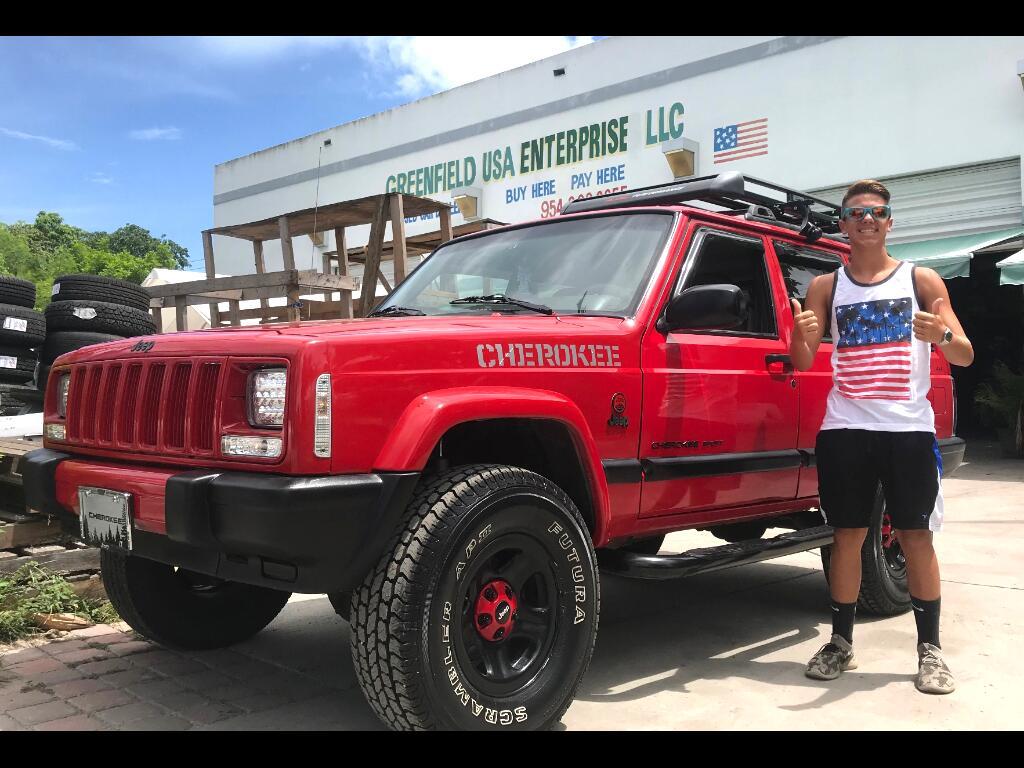 Used 2001 Jeep Cherokee Sport 4 Door 4wd For Sale In