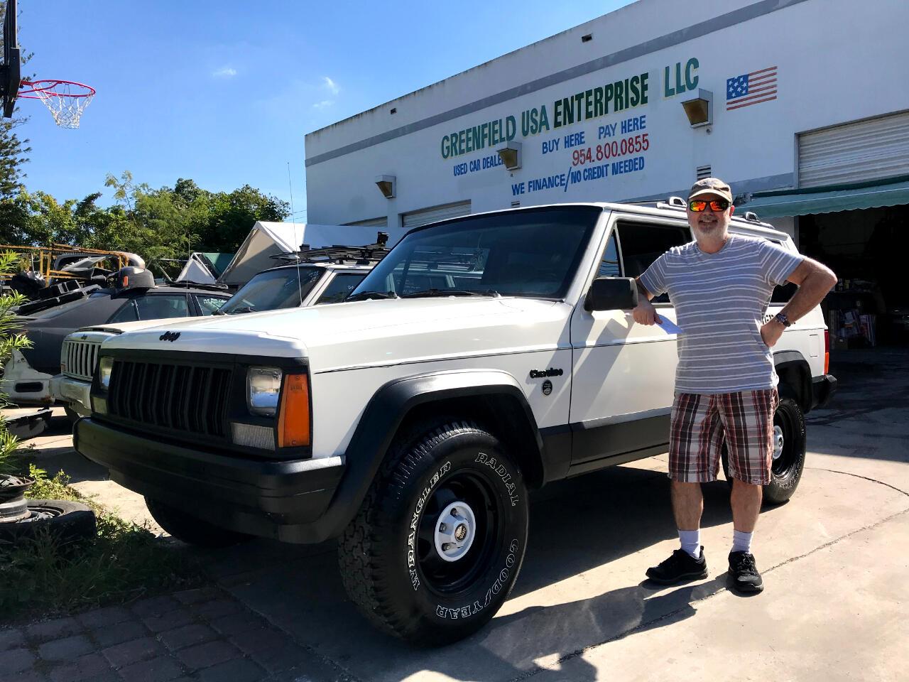 1996 Jeep Cherokee SE 2-Door 2WD