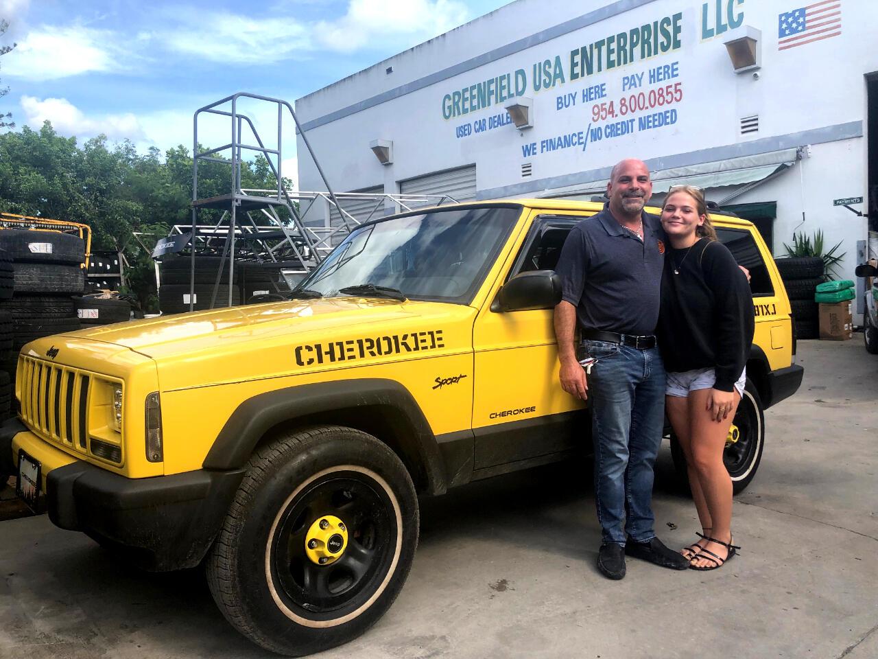 2001 Jeep Cherokee Sport 4-Door 2WD