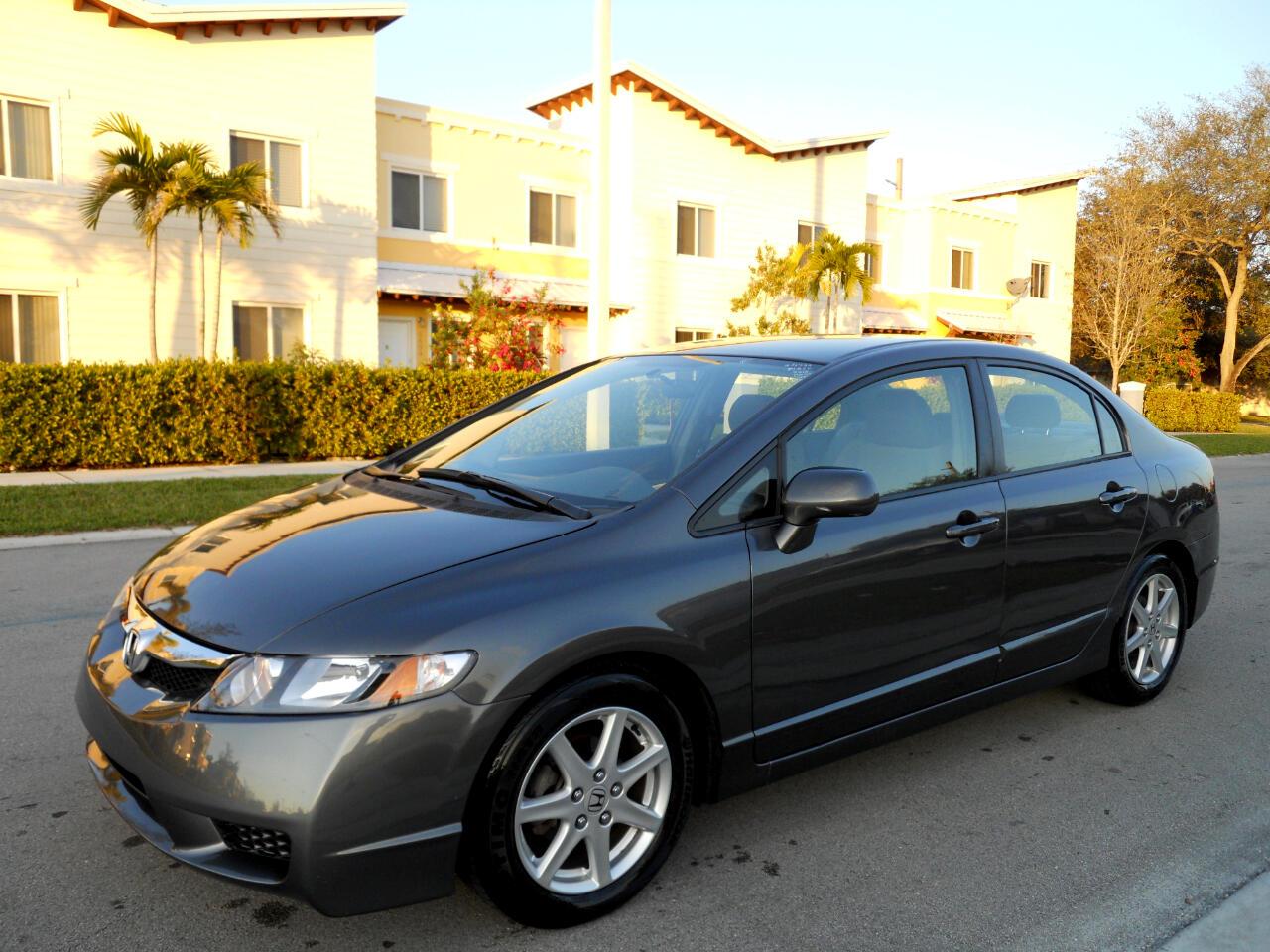 2010 Honda Civic LX Sedan 5-Speed AT