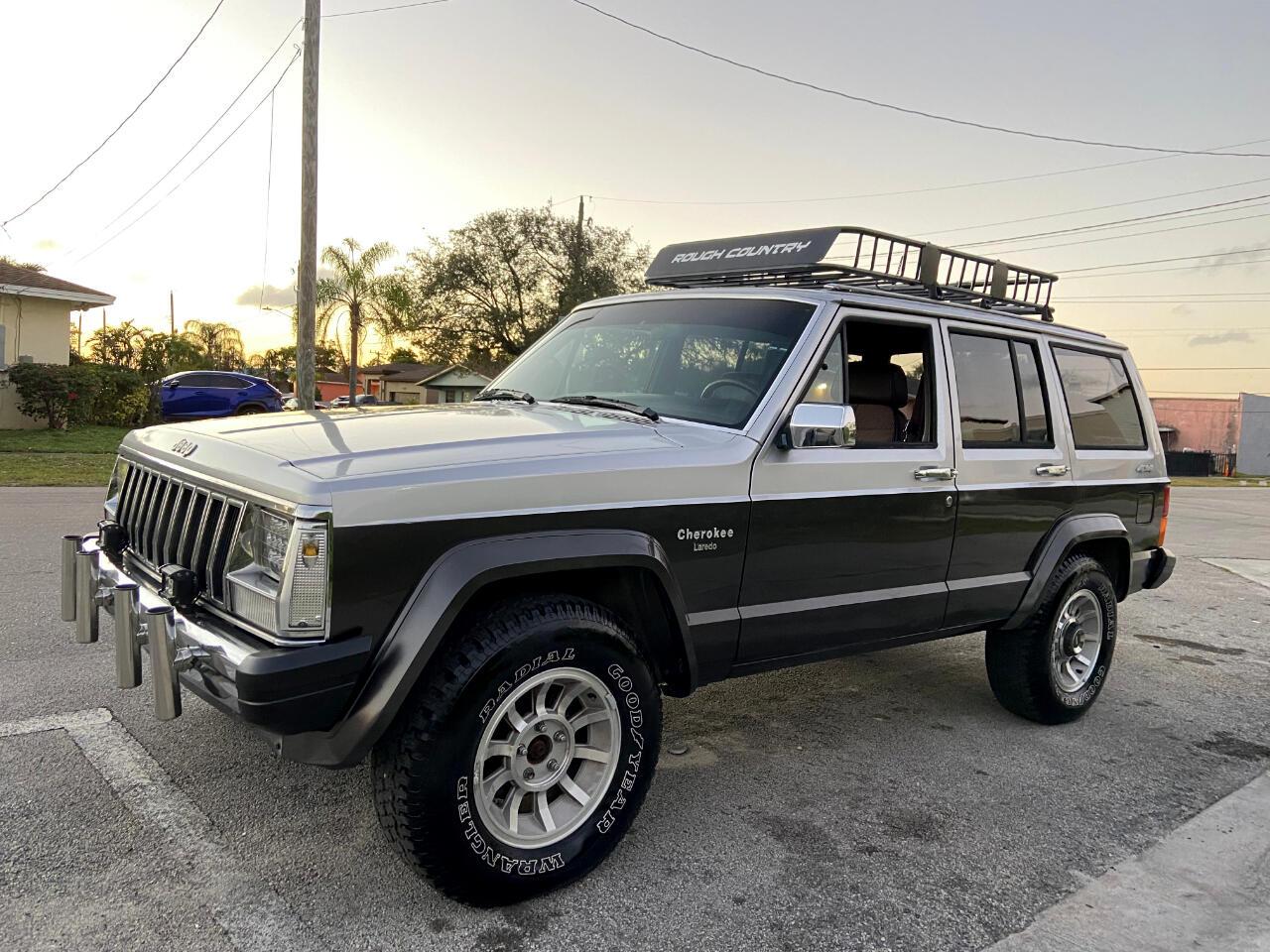 AMC Cherokee Laredo 4WD 1987