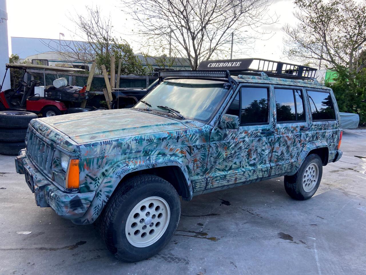 Jeep Cherokee Sport 4-Door 4WD 1996