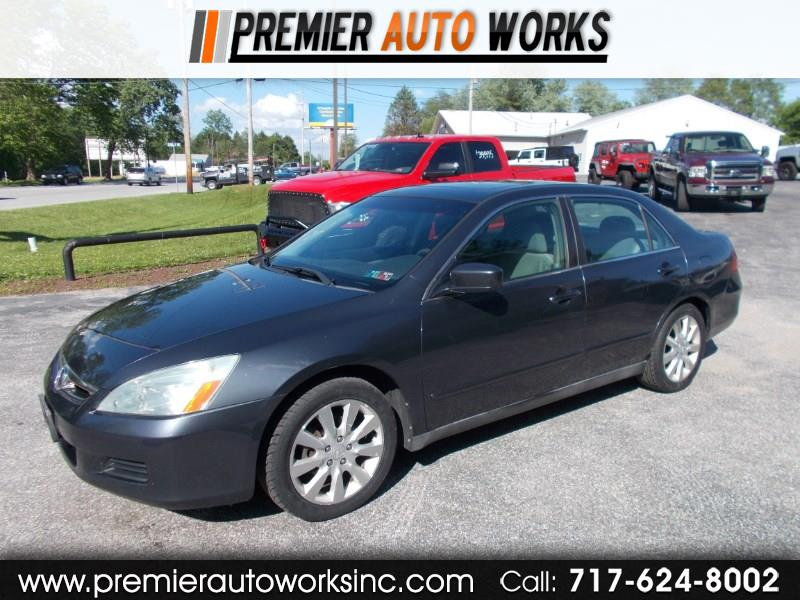 2006 Honda Accord LX V-6 Sedan AT