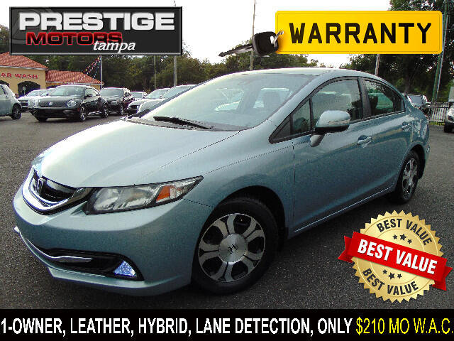 2013 Honda Civic Hybrid CVT AT-PZEV with Leather