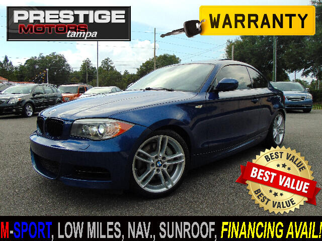 2012 BMW 1-Series 135i Coupe M-Sport