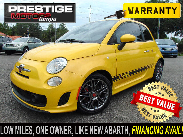 2017 Fiat 500 Abarth Hatchback