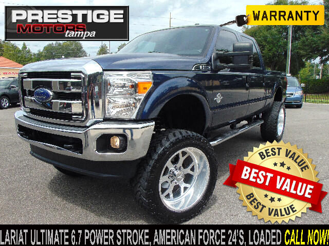 2015 Ford F-250 SD Lariat Ultimate Crew Cab 4WD