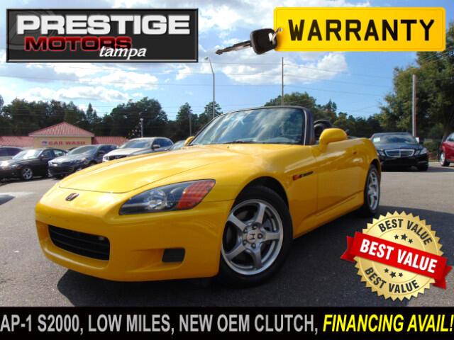 Used 2002 Honda S2000 For Sale In Lutz Fl 33549 Prestige Motors Tampa