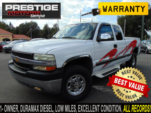 2002 Chevrolet Silverado 2500HD LT Ext. Cab Short Bed 2WD