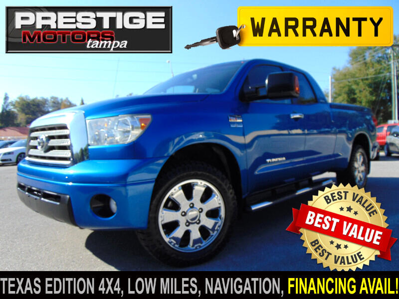 2007 Toyota Tundra Limited Double Cab 4WD Texas Edition