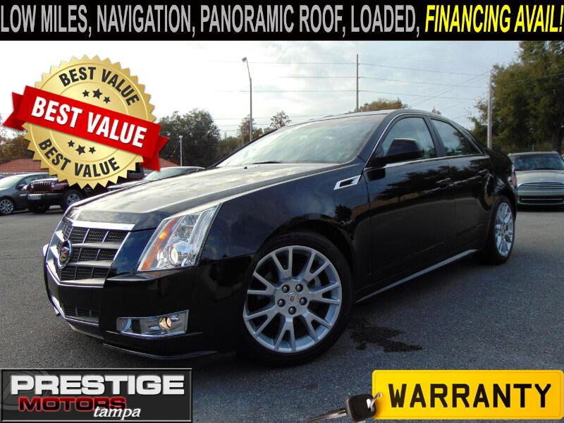 2011 Cadillac CTS 3.6L Performance w/ Navi