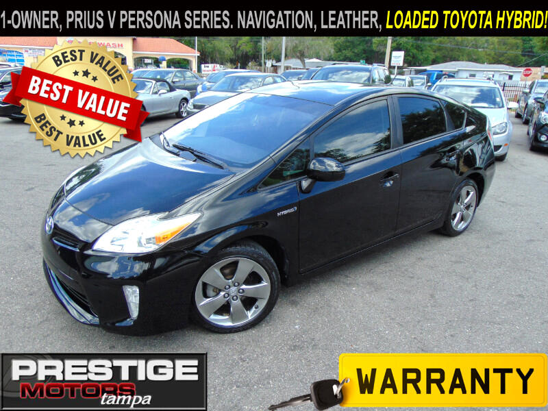 2013 Toyota Prius Prius V Persona