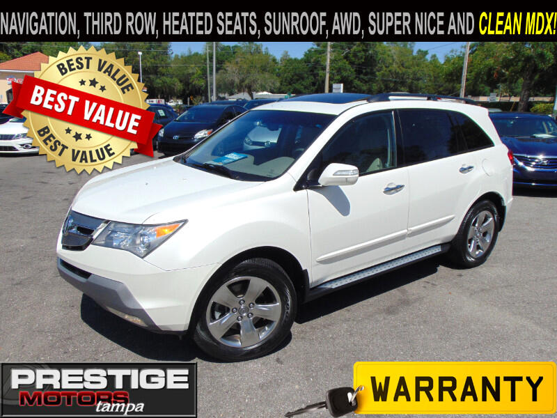 2008 Acura MDX SH-AWD W/Tech Pack