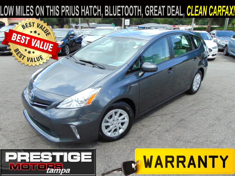Used 2012 Toyota Prius V Three for Sale in Tampa FL 33549