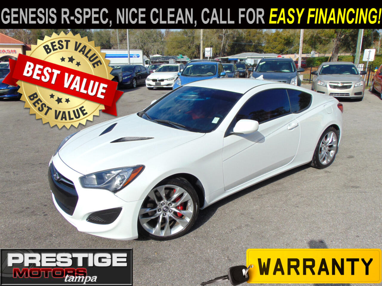 Hyundai Genesis Coupe 2.0T R-Spec Manual 2013
