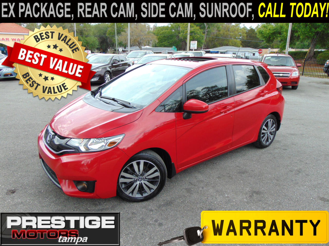 Honda Fit EX 6-Spd MT 2015