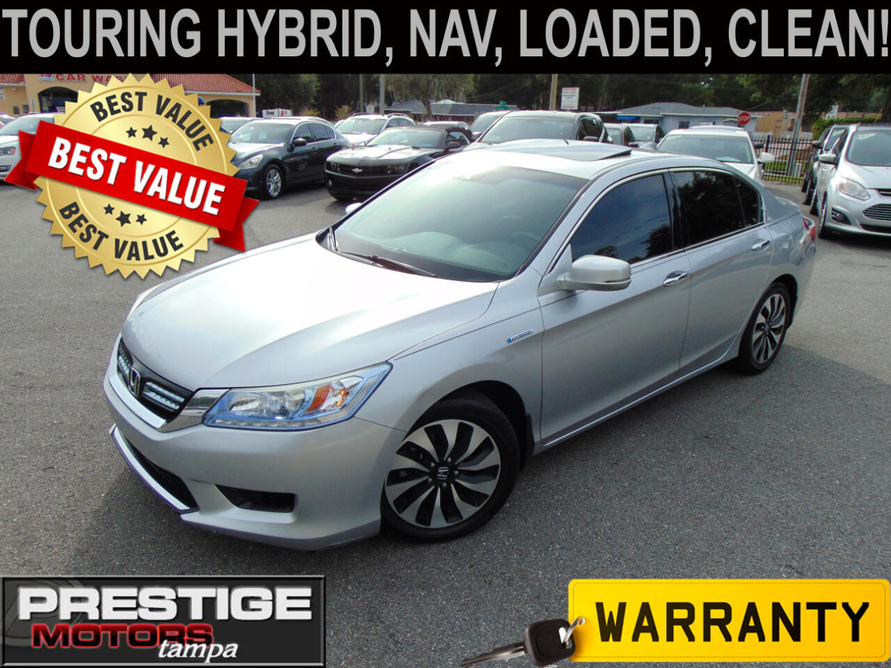 Honda Accord Hybrid Touring 2014