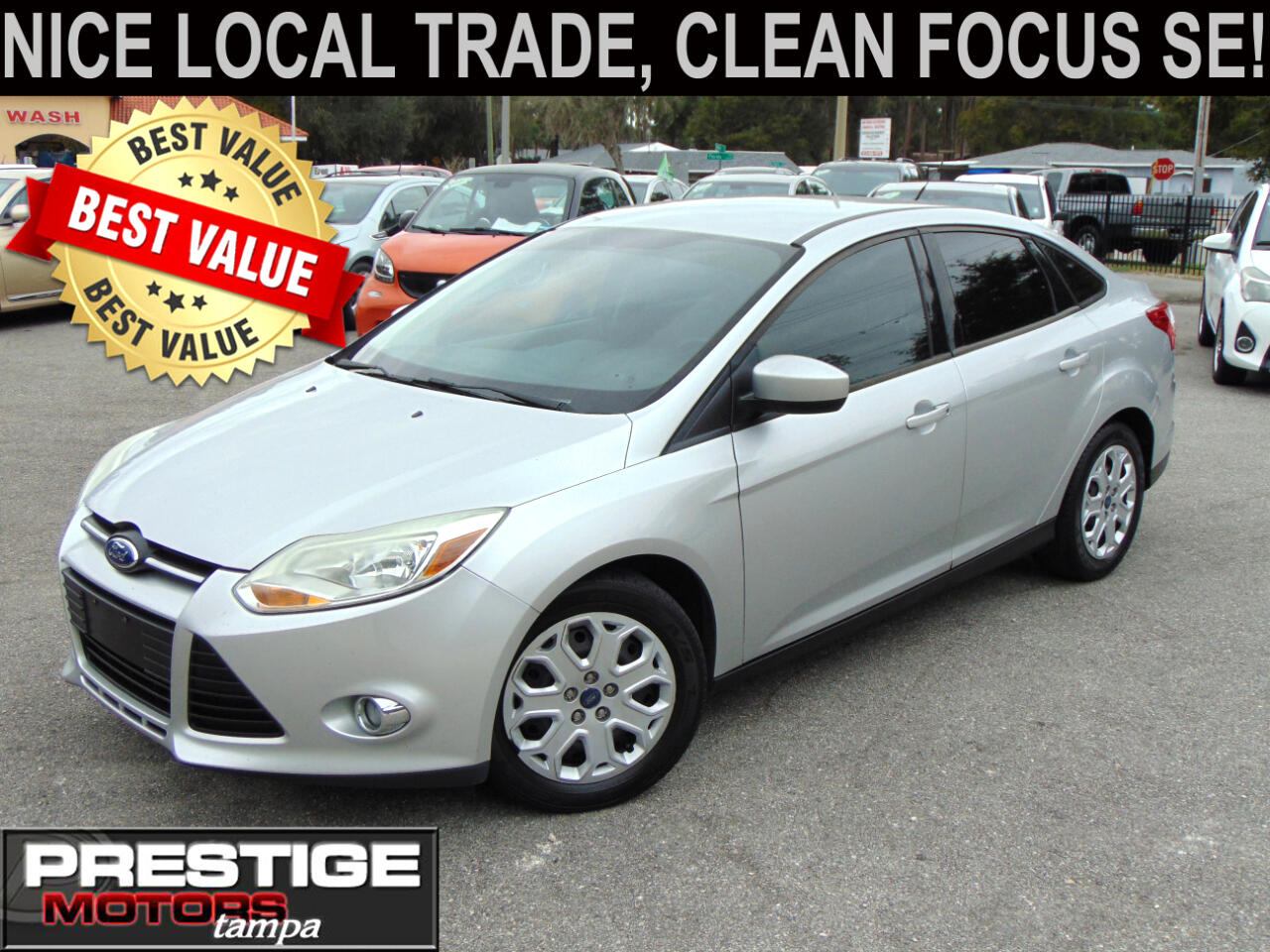 Ford Focus SE Sedan 2012