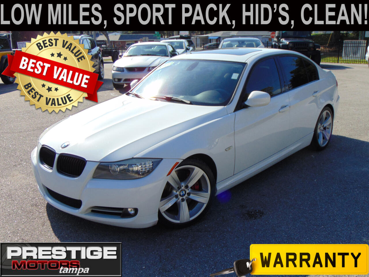 BMW 3-Series 335i SA 2011