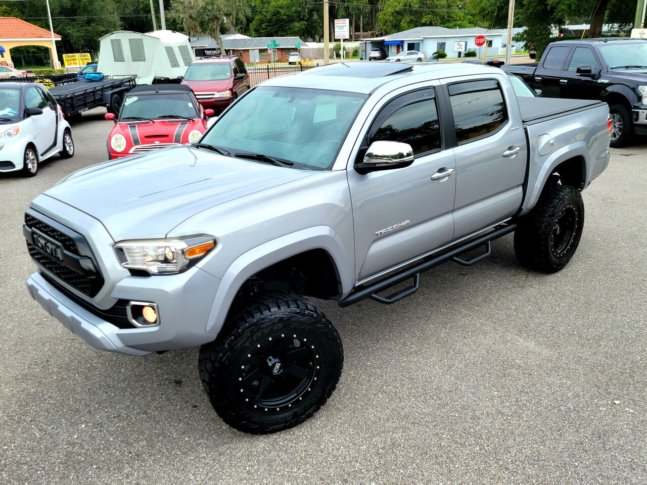 Toyota Tacoma Limited Double Cab V6 6AT 2WD 2017