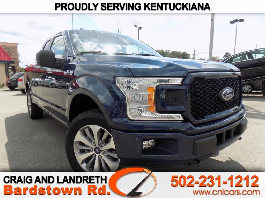"2018 Ford F-150 4WD SuperCab 145"" STX"