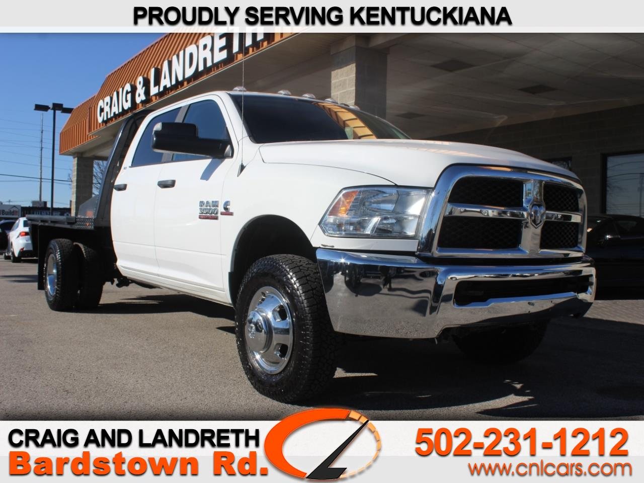 "2017 RAM 3500 Chassis Cab SLT 4WD Crew Cab 172"" WB 60"" CA"