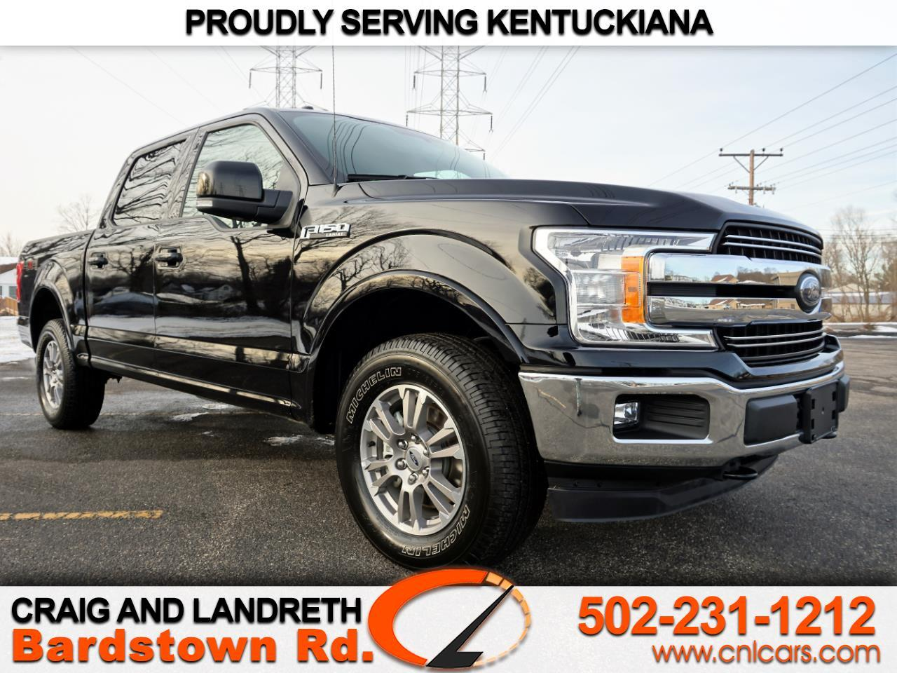 2018 Ford F-150 4WD Lariat