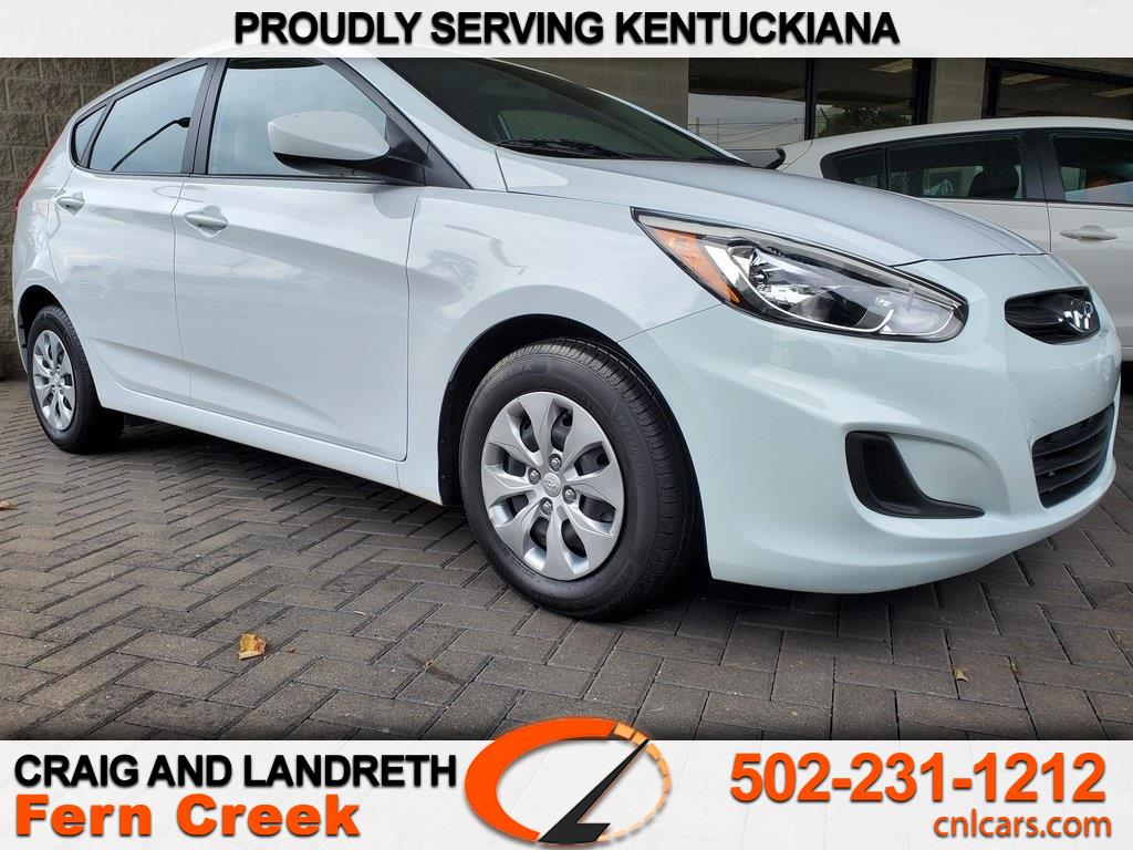 2017 Hyundai Accent SE 5-Door 6A
