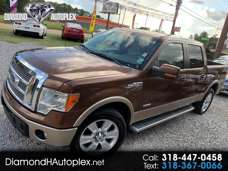 2012 Ford F-150 Lariat SuperCrew 2WD