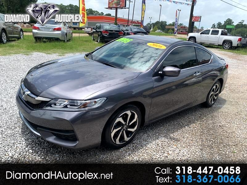 Honda Accord LX-S Coupe CVT 2016