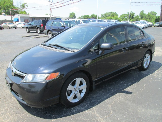 2008 Honda Civic EX SEDAN 5 SPEED MANUAL TRANSMISSION