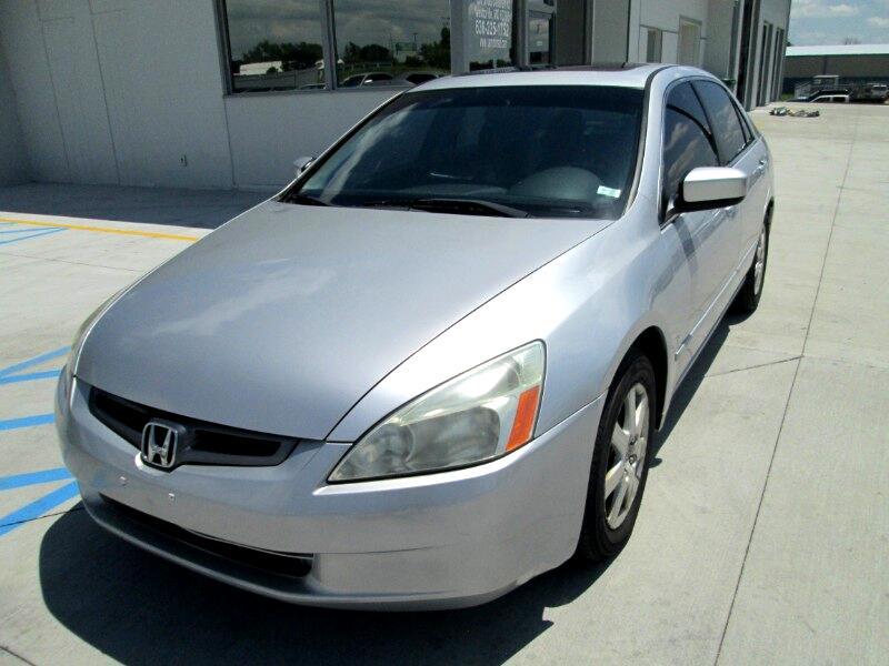 2005 Honda Accord EX V-6 Sedan AT with Navigation System and XM Radi