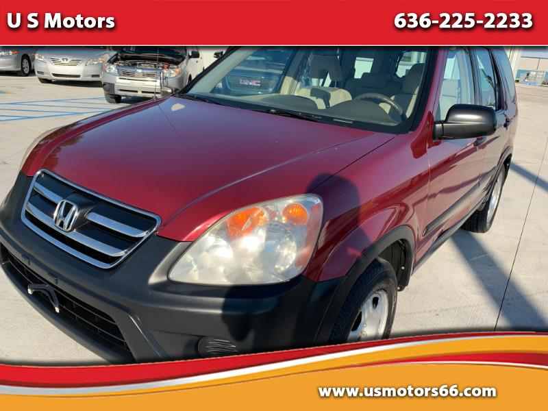 2006 Honda CR-V LX 4WD AT