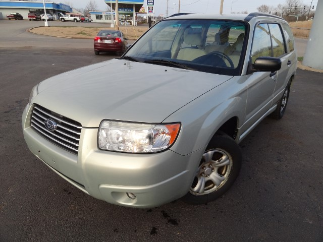 2007 Subaru Forester 2.5 X 3 MONTH OR 3000 MILEAGE WARRANTY COMES WITH