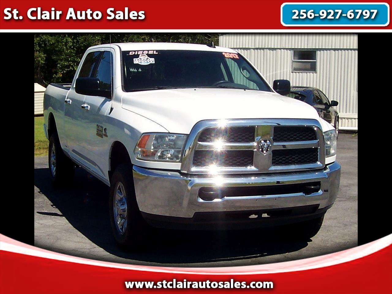 Ram 2500 Diesel For Sale >> Used 2017 Ram 2500 Slt Crew Cab Swb 4wd For Sale In Centre