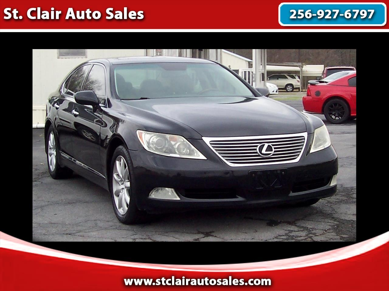 Lexus LS 460 Luxury Sedan 2009